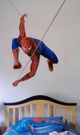spider man for kids bedroom