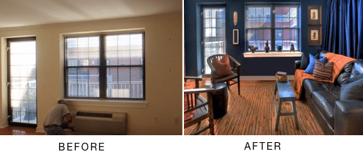 before and after bedroom design