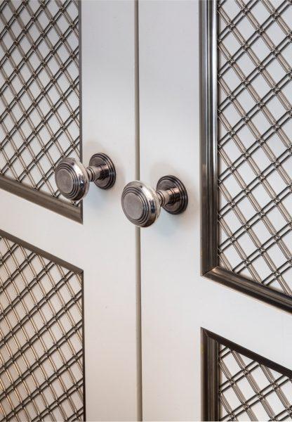 Sterling Silver door knob