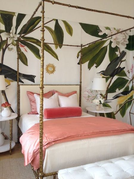 boho canopy bed, unique canopy bed