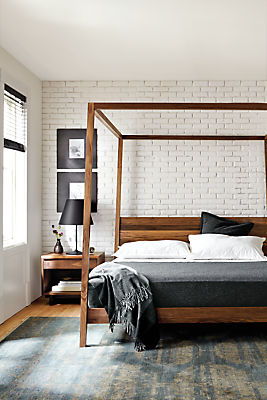 canopy bed, industrial canopy bed
