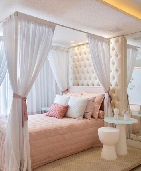 fairytale canopy bed, princess canopy bed