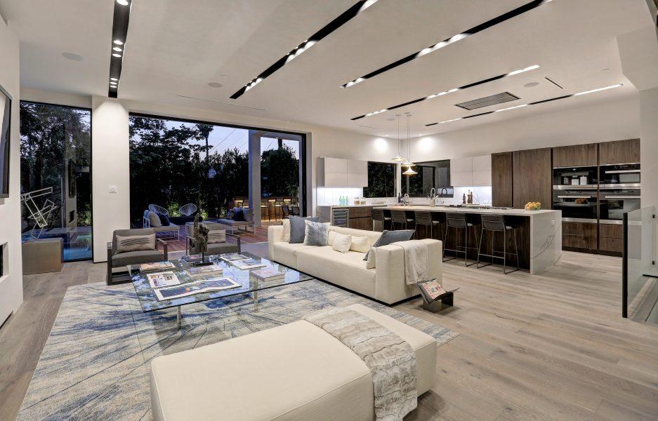 entertaining, open-floor plan, open-concept living room