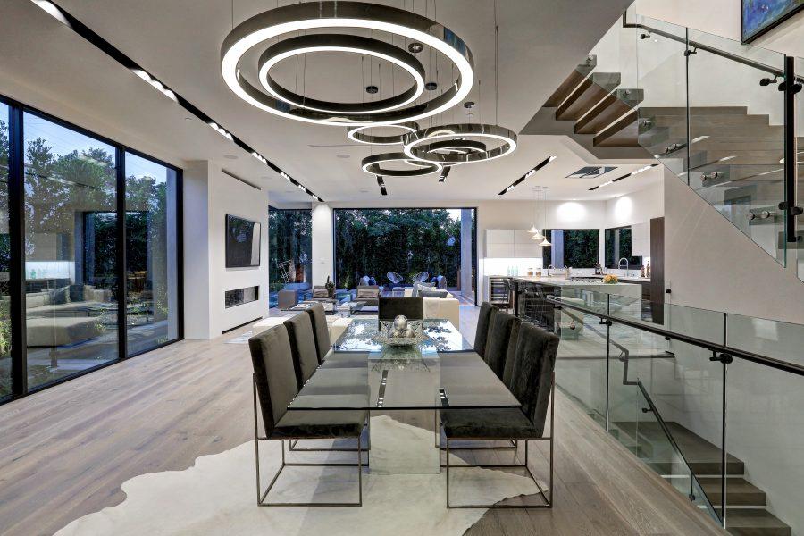 open floor plan, open concept living room