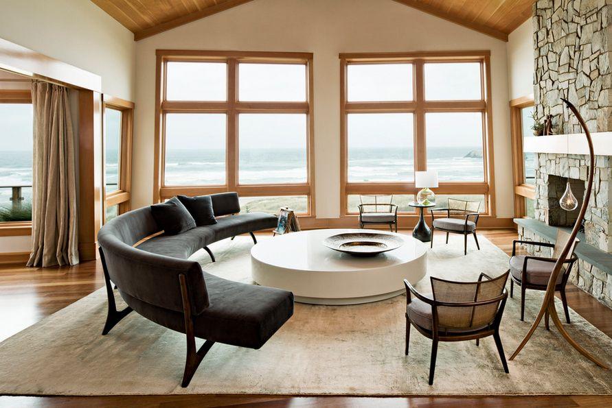 curved sofa, sofa, living room furniture