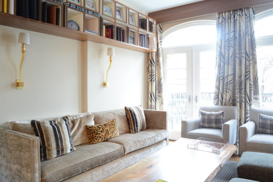 velvet sofa, beige velvet sofa