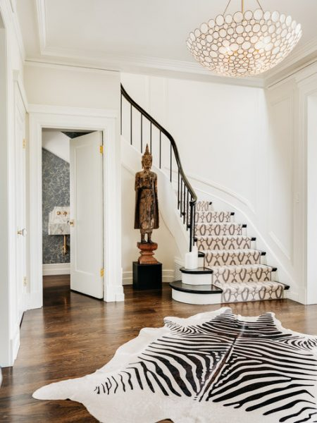 foyer rug, entryway rug, entryway chandelier