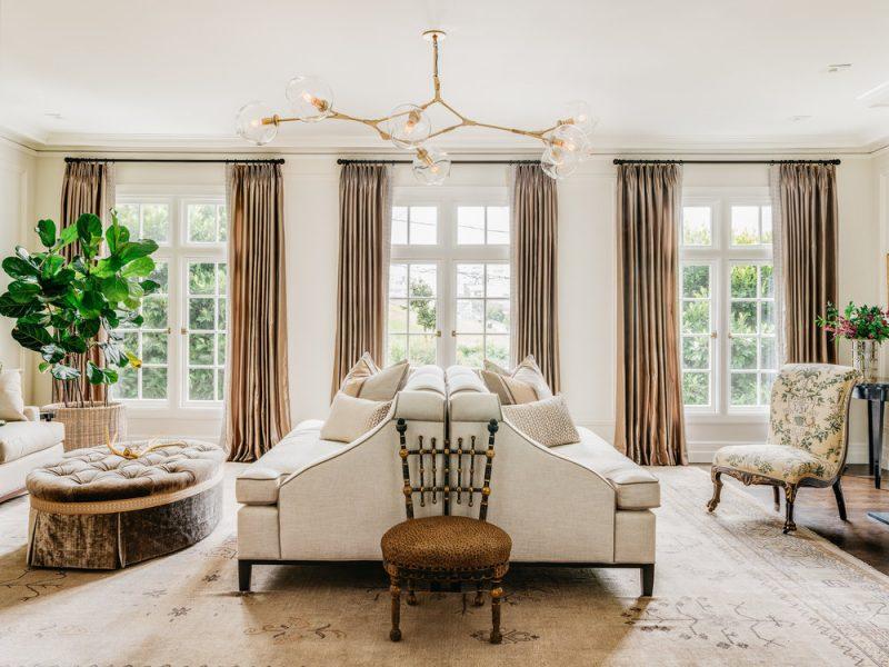 living room, lindsey adelman