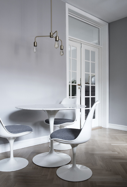 tulip table, tulip chair, pedestal collection, knoll