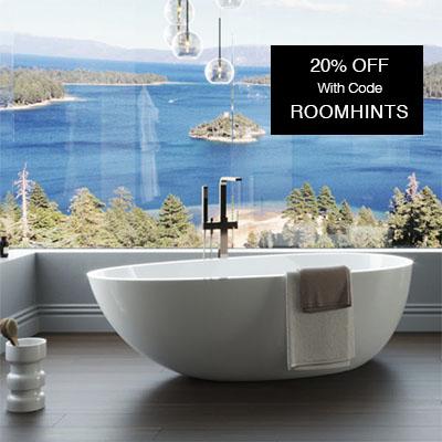 Badeloft freestanding stone resin tub
