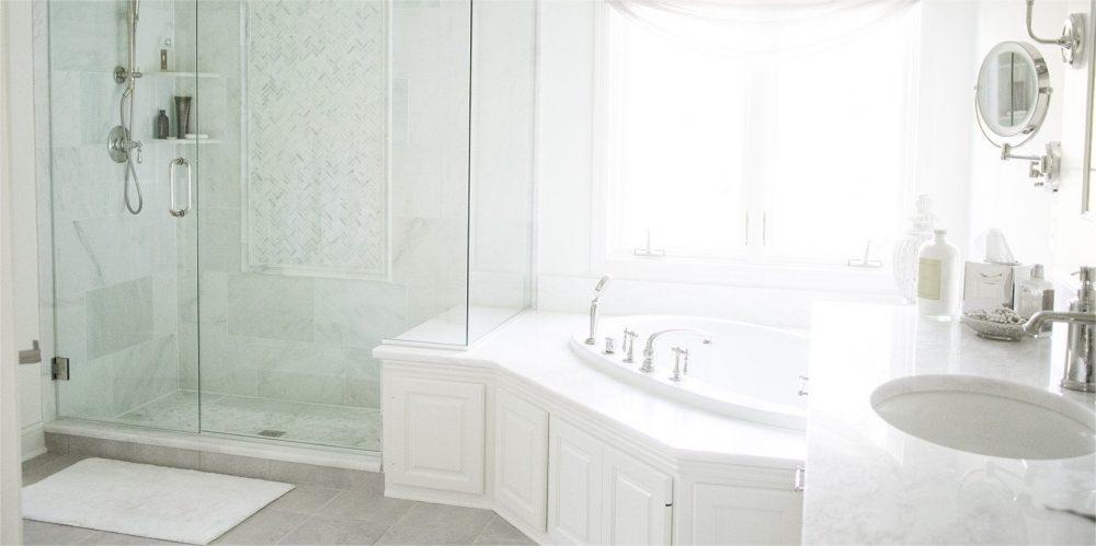 built in tub, bathroom remodel