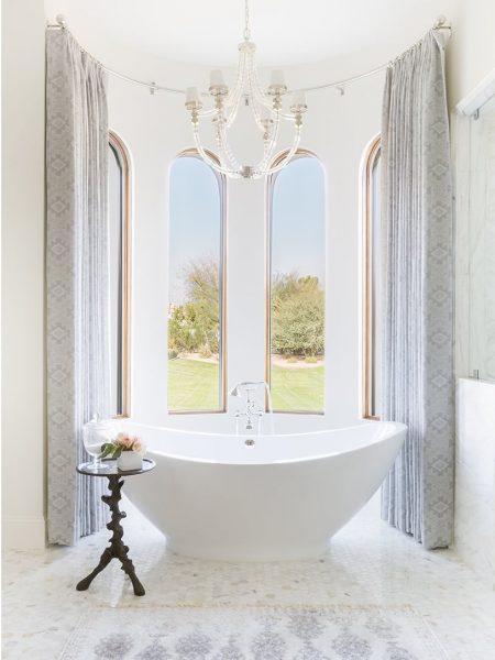 freestanding tub, free standing tub, bathtub, built in tub vs freestanding tub, freestanding tub pros and cons, curved freestanding tub, asymmetrical freestanding tub