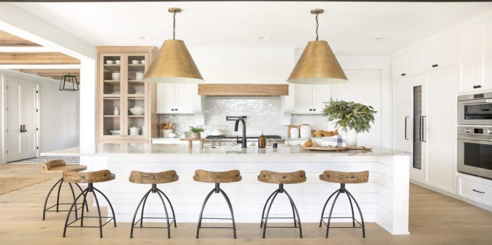 large bronze light pendant kitchen
