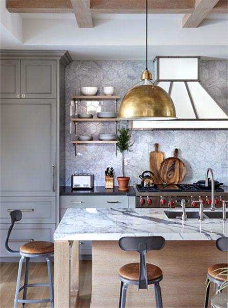 marble kitchen backsplash