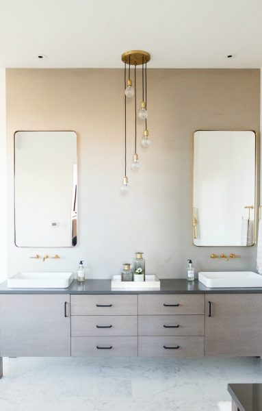 vessel sink, double vanity, bathroom vanity, bathroom vanity ideas, bathroom remodel, modern bathroom