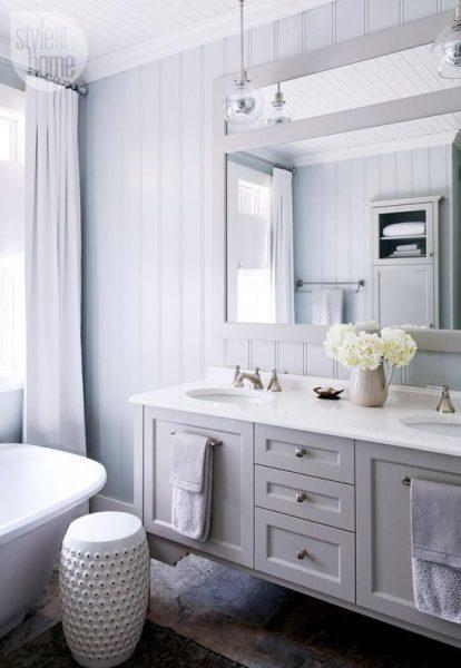 Vertical shiplap bathroom inspiration