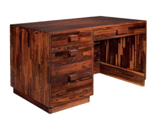 Rare Cocobolo Desk