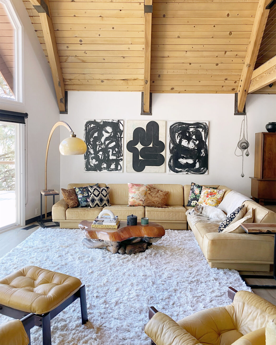 sustainable designed living room