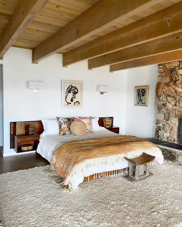 sustainable designed bedroom