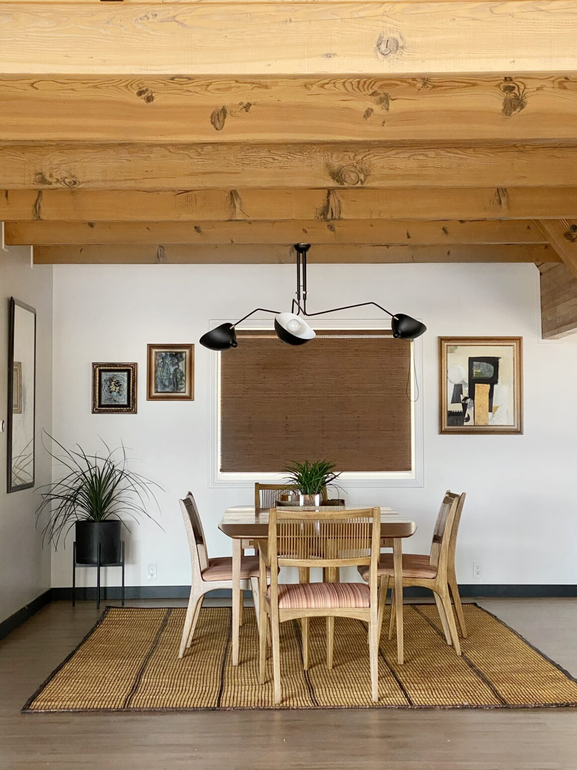 sustainable designed dining room