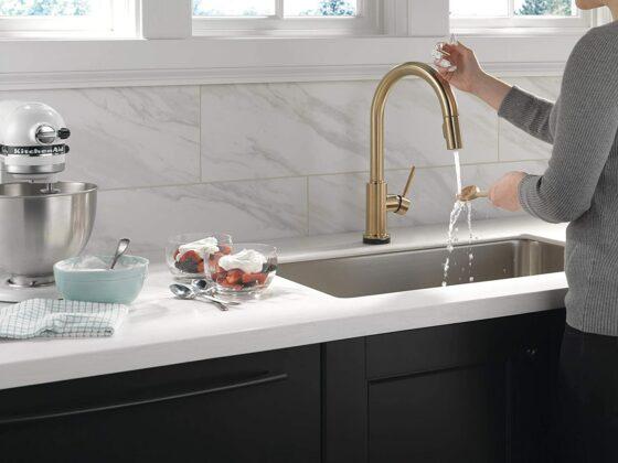 kitchen faucet designer pic