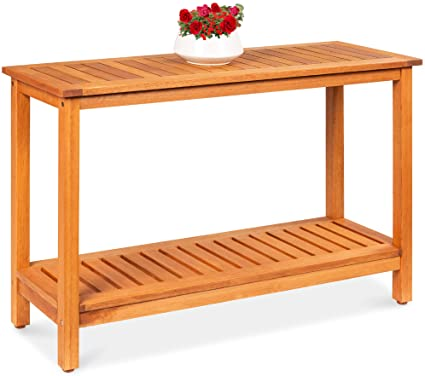 storage console table outdoor