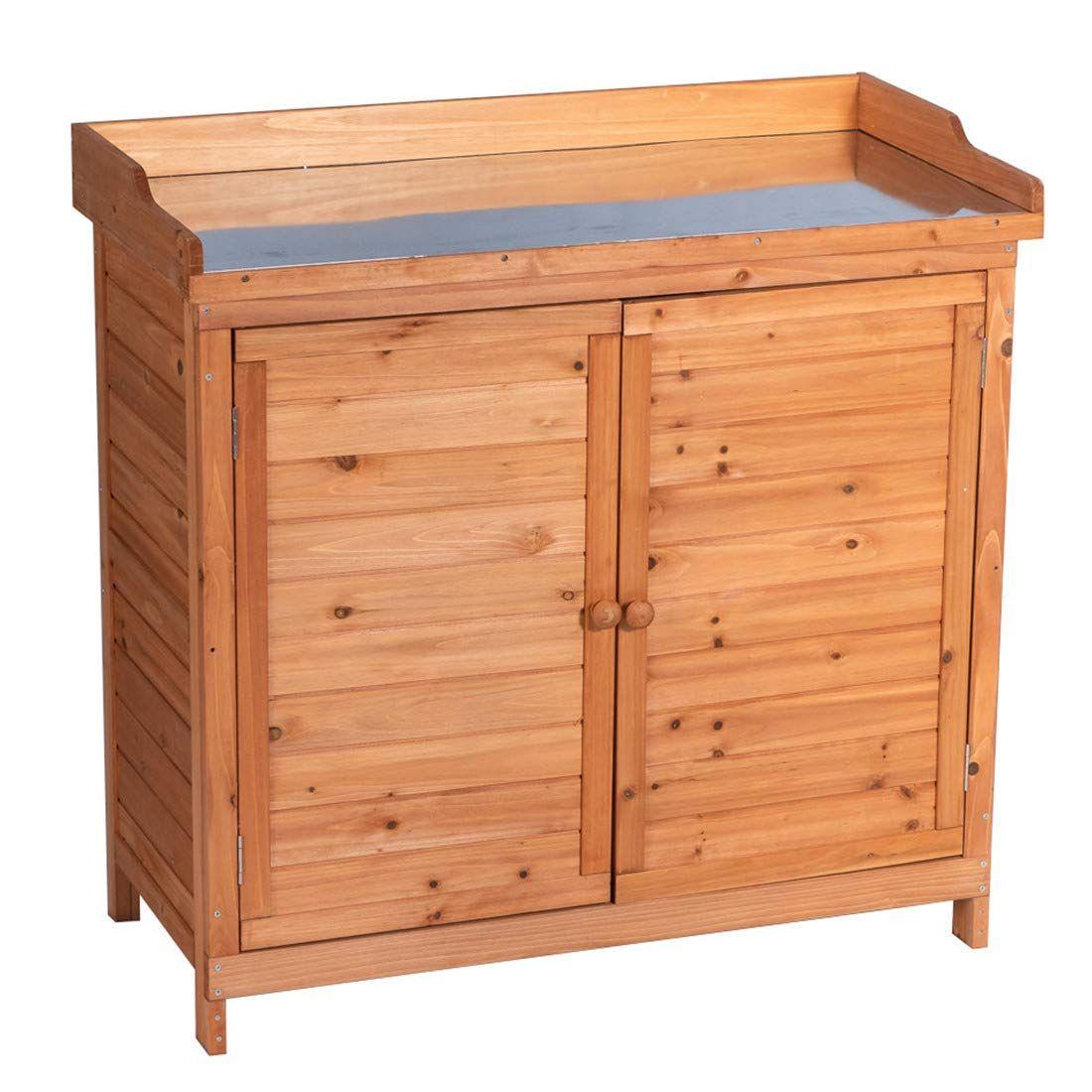 storage cabinet cedar and wood