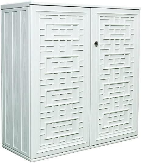 chic outdoor storage option